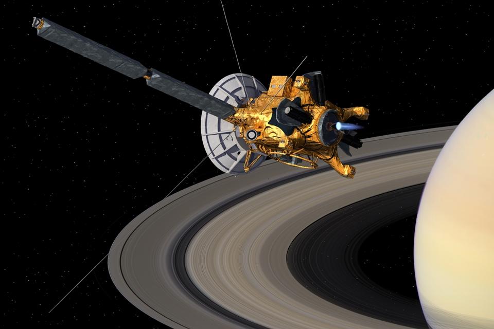 Imagem de Sonda Cassini vai fazer seu último voo e cair na atmosfera de Saturno no tecmundo