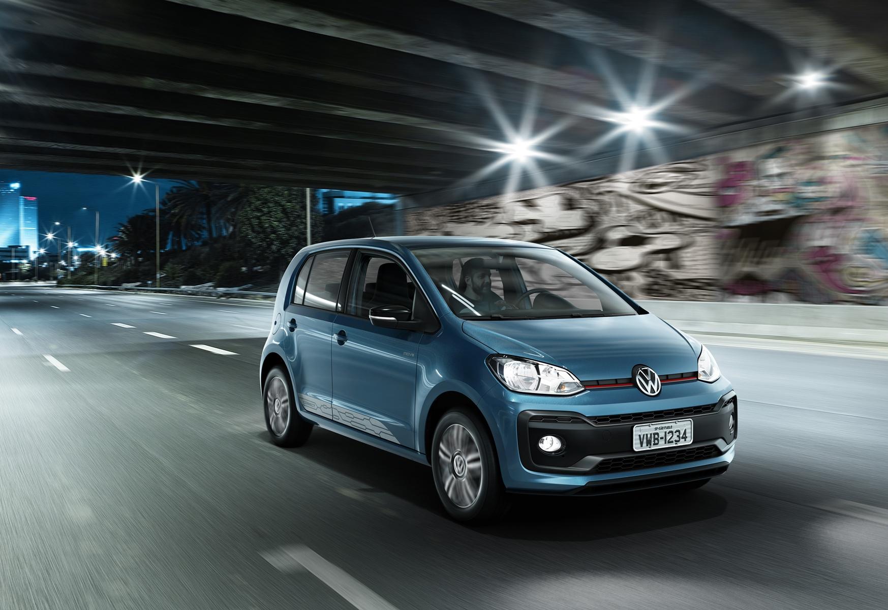Imagem de VW apresenta novo up! de cara nova e com mudanças na parte de infotainment no tecmundo