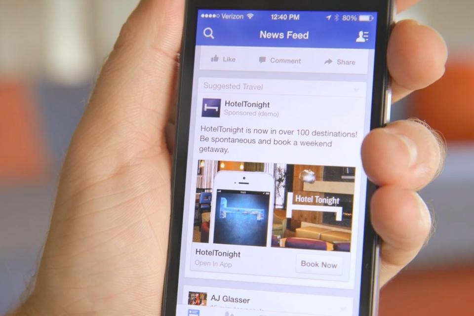 Imagem de Facebook atinge a marca de 5 milhões de anunciantes publicitários no tecmundo