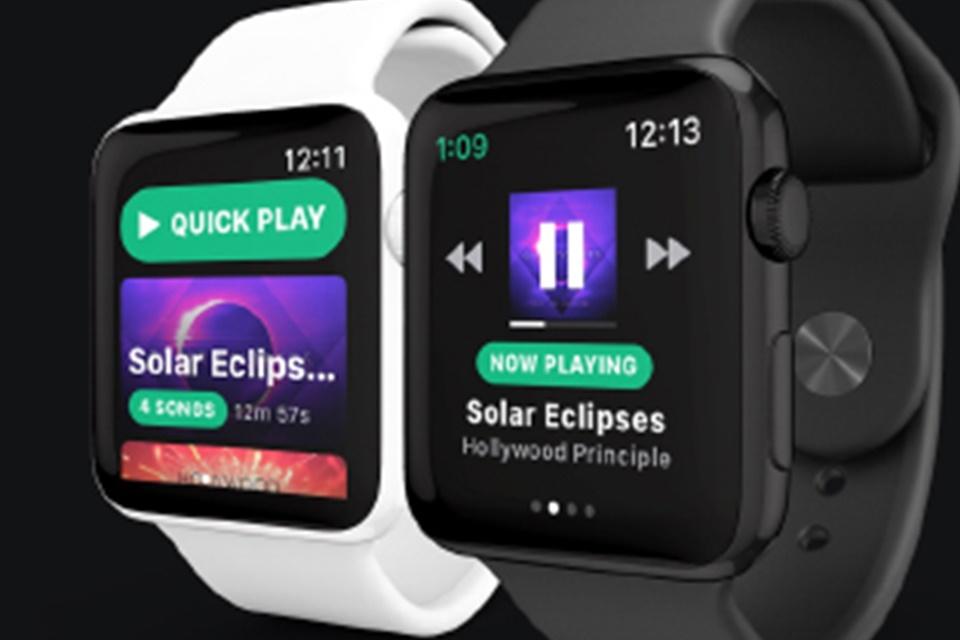 """Imagem de """"Spotify"""" deve chegar ao Apple Watch com música offline em breve no tecmundo"""