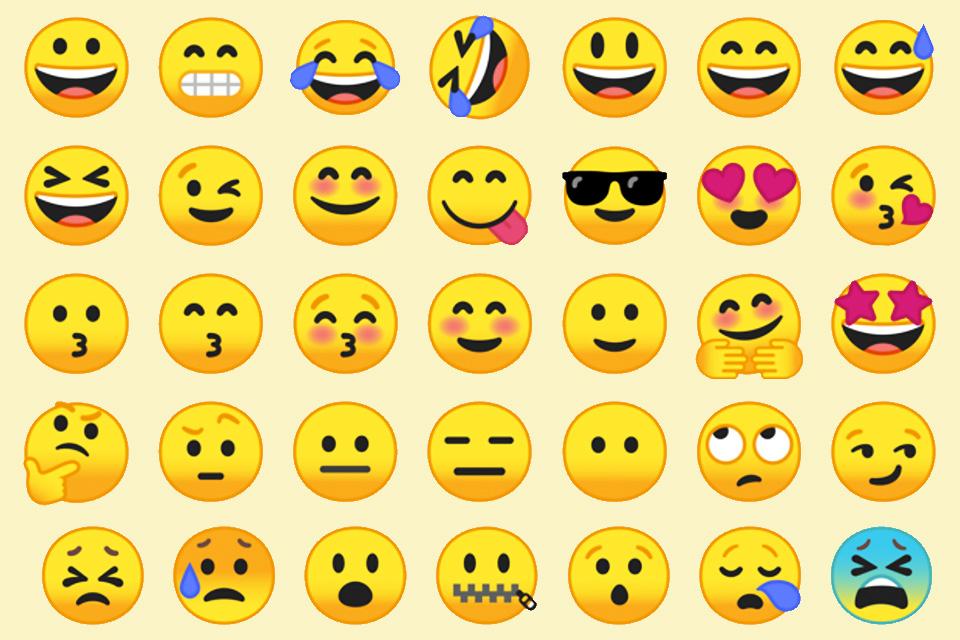 Imagem de Android O terá novos emojis com formato mais convencional no tecmundo