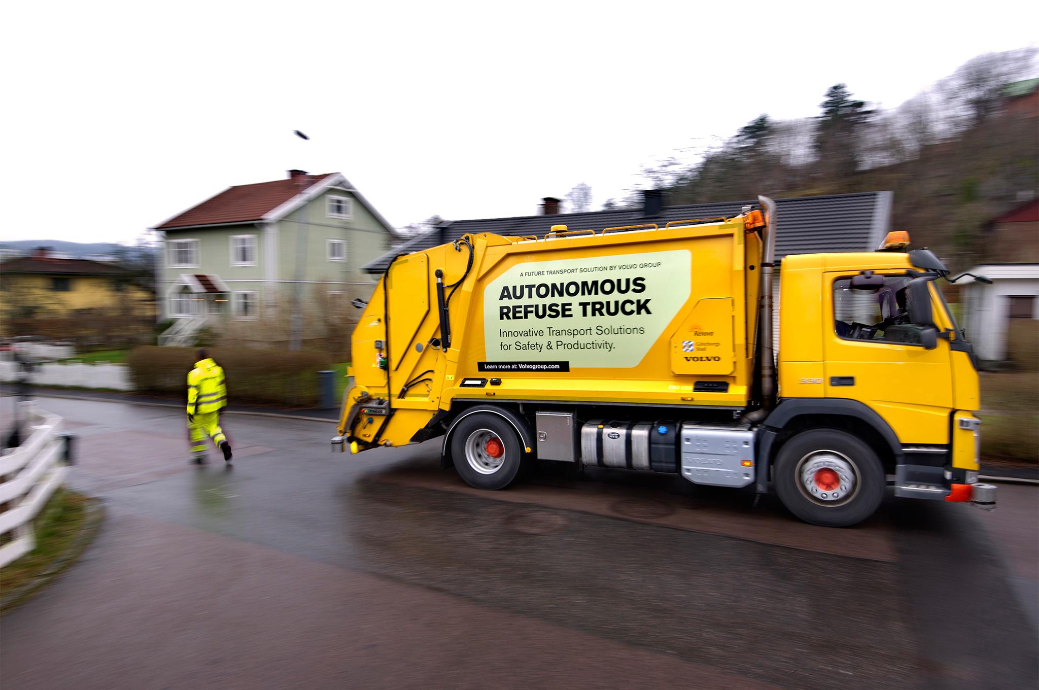 Imagem de Além do passeio: Volvo desenvolve um caminhão de lixo autônomo no tecmundo