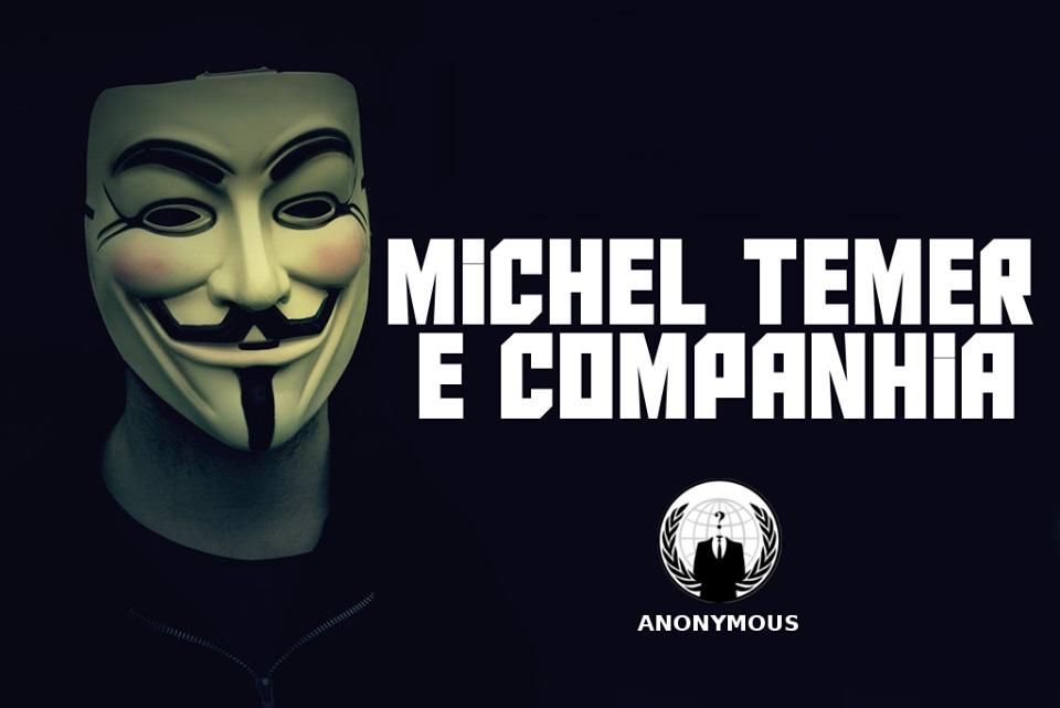 Imagem de Célula da Anonymous ataca novamente site de Michel Temer no tecmundo