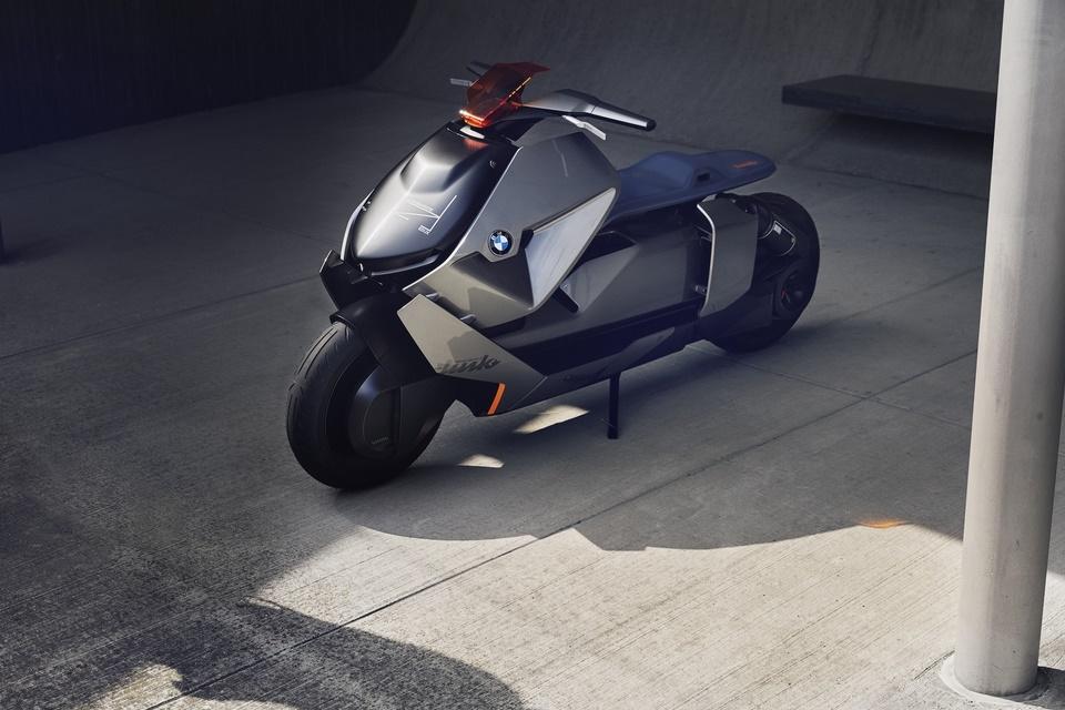 Imagem de Conceito de nova moto elétrica da BMW parece uma lambreta futurista no tecmundo