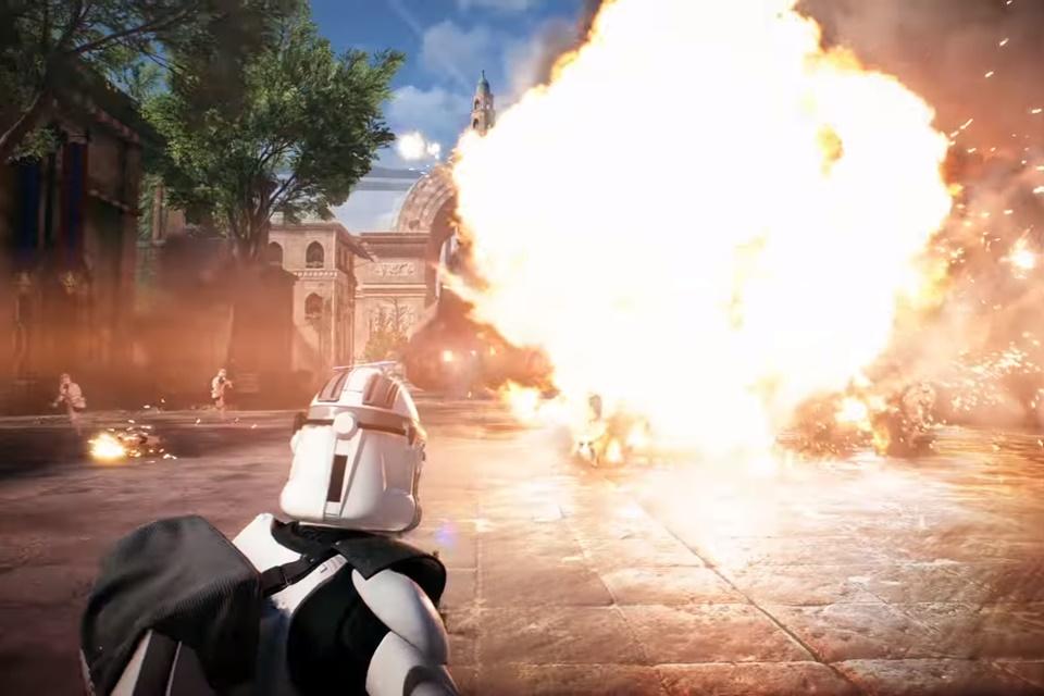 Imagem de Veja uma partida do novo Star Wars Battlefront II e confira as novidades no tecmundo