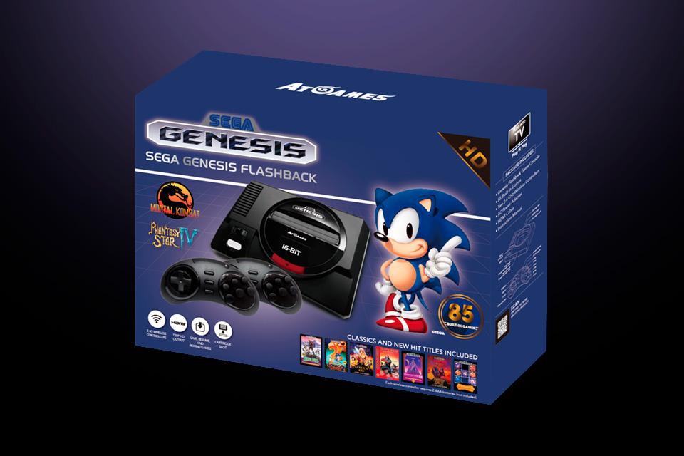 Imagem de Novo Sega Genesis terá tudo que você queria no Mega Drive BR e NES Mini no tecmundo