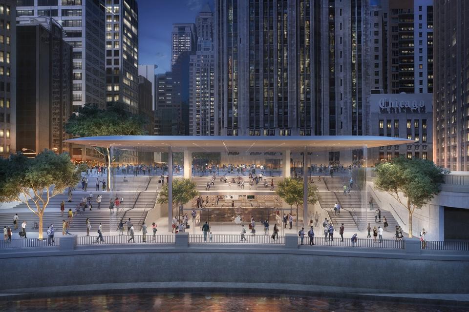 Imagem de Nova loja da Apple em Chicago vai ter formato de MacBook gigante no tecmundo