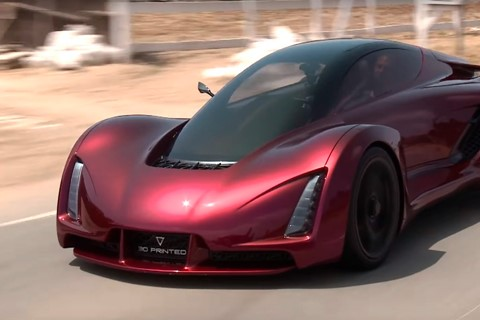 Imagem de Carro esportivo feito com impressão 3D revela a engenharia do futuro no tecmundo