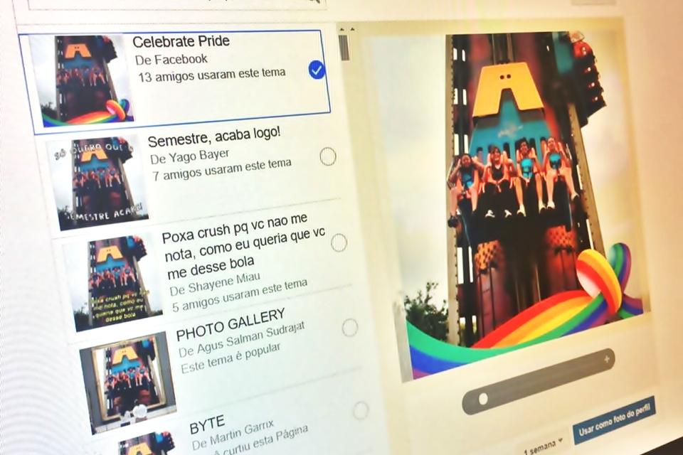 Imagem de Facebook: como adicionar um tema temporário à sua foto de perfil no tecmundo