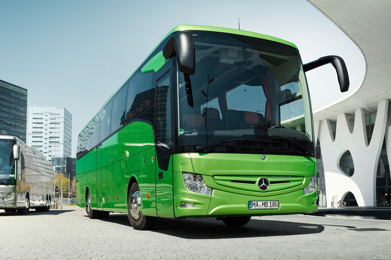 Imagem de Novos ônibus Mercedes frearão automaticamente para evitar atropelamentos no tecmundo