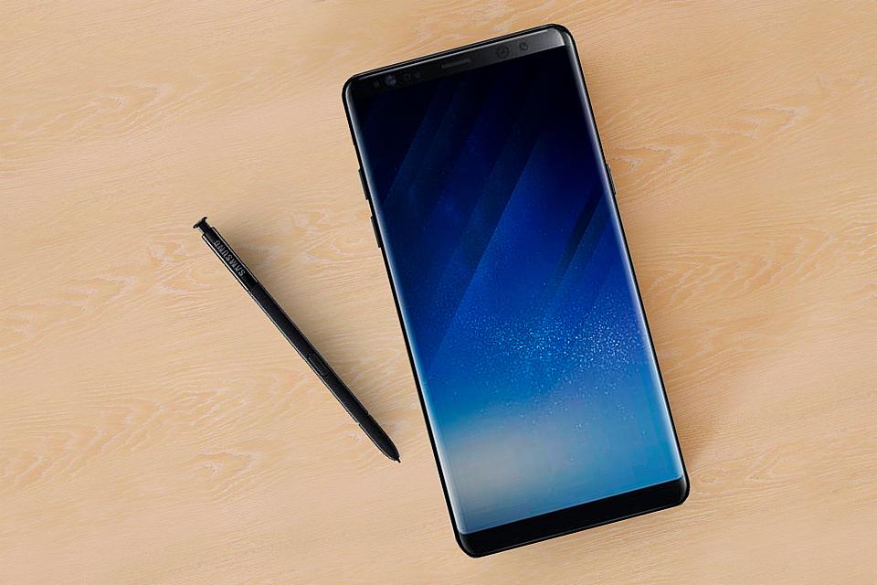 Imagem de Foto de película para o Galaxy Note8 revela formato da tela do aparelho no tecmundo