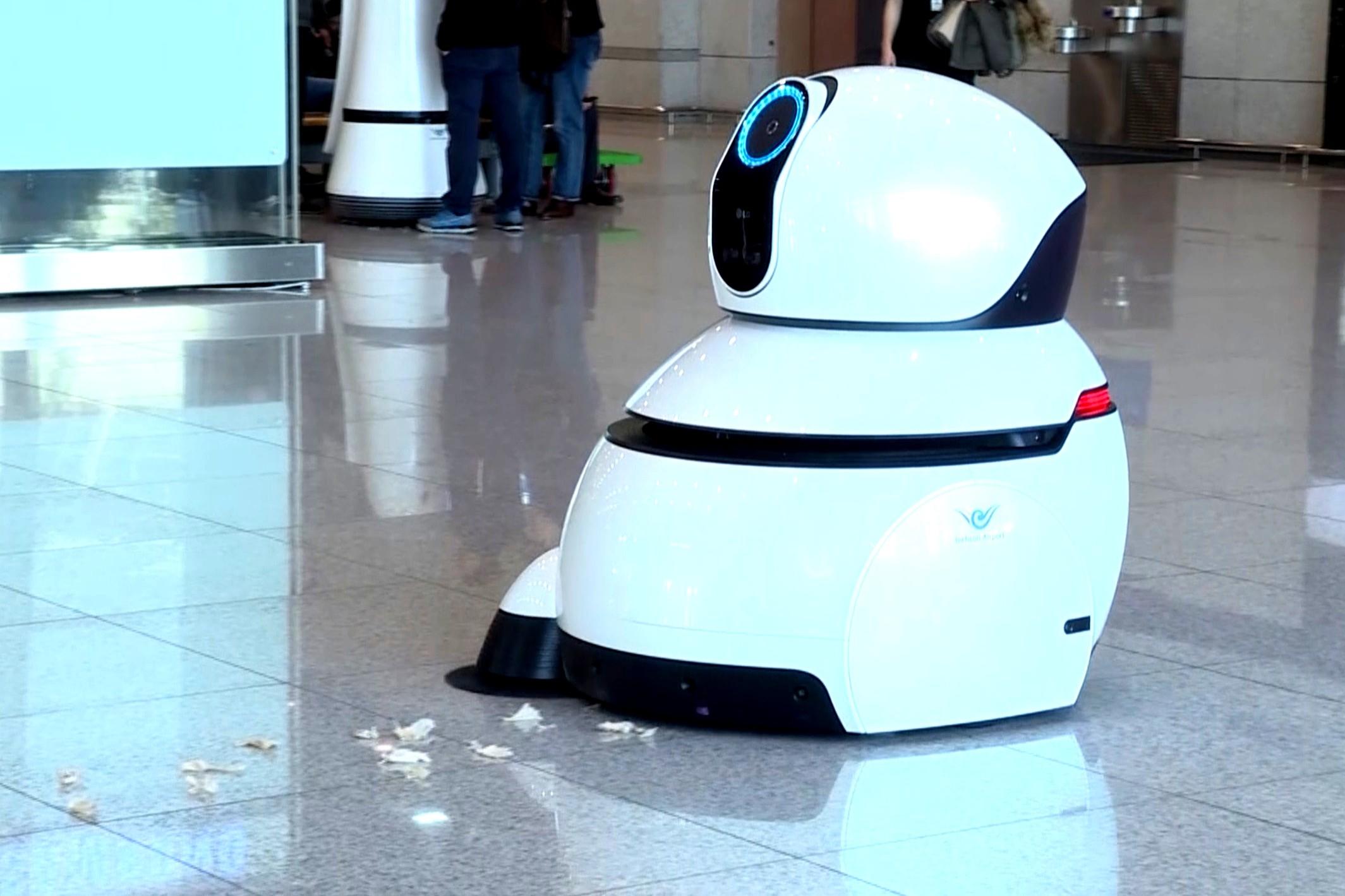 Imagem de Robôs da LG vão servir de guias e faxineiros em aeroporto da Coreia do Sul no tecmundo