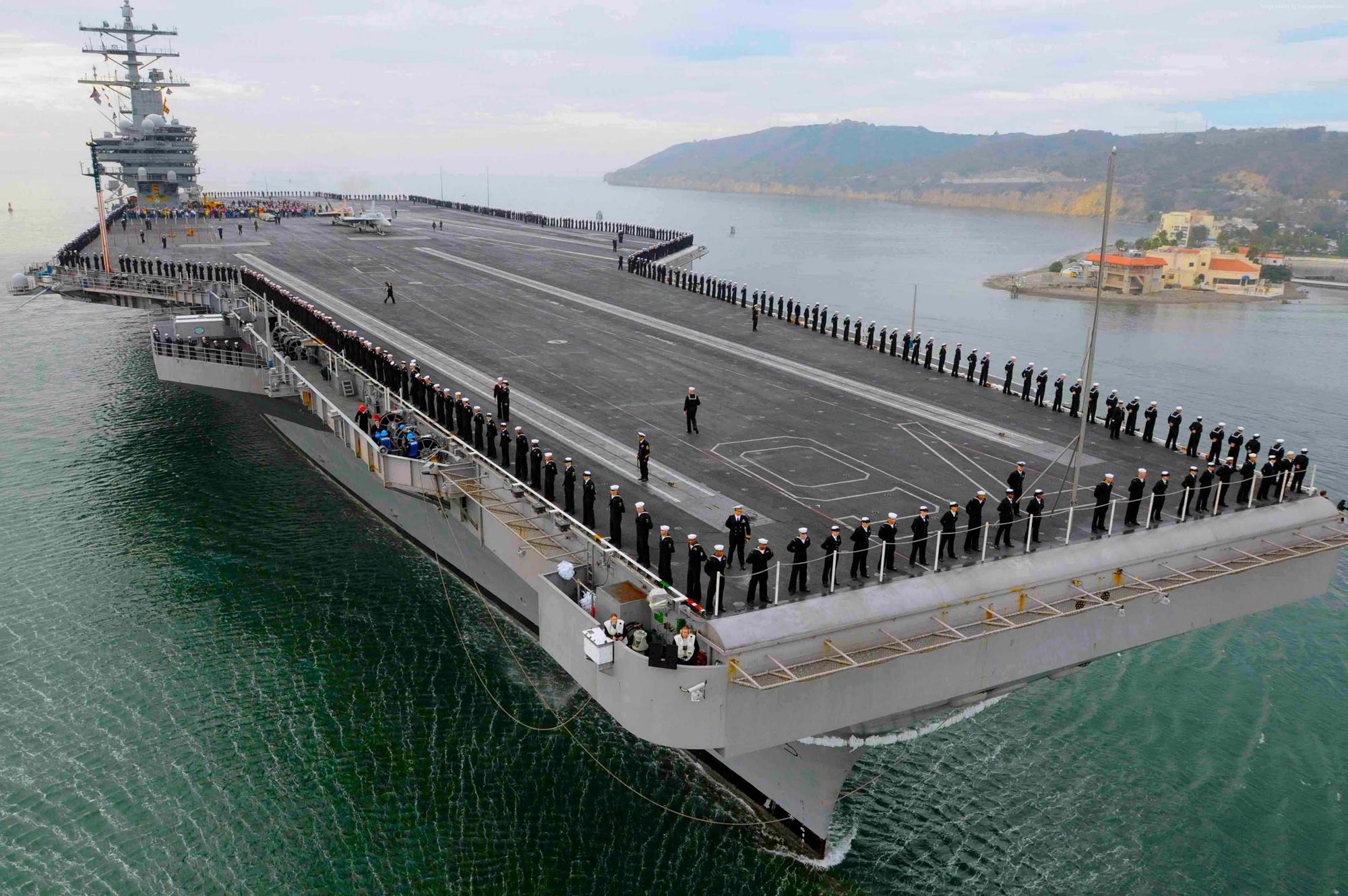 Imagem de O mais novo porta-aviões dos EUA promete mudar os conflitos navais no tecmundo