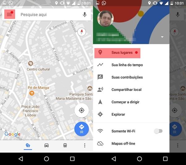79561fda6018c Aprenda a salvar os seus locais favoritos no Google Maps - Ficha ...