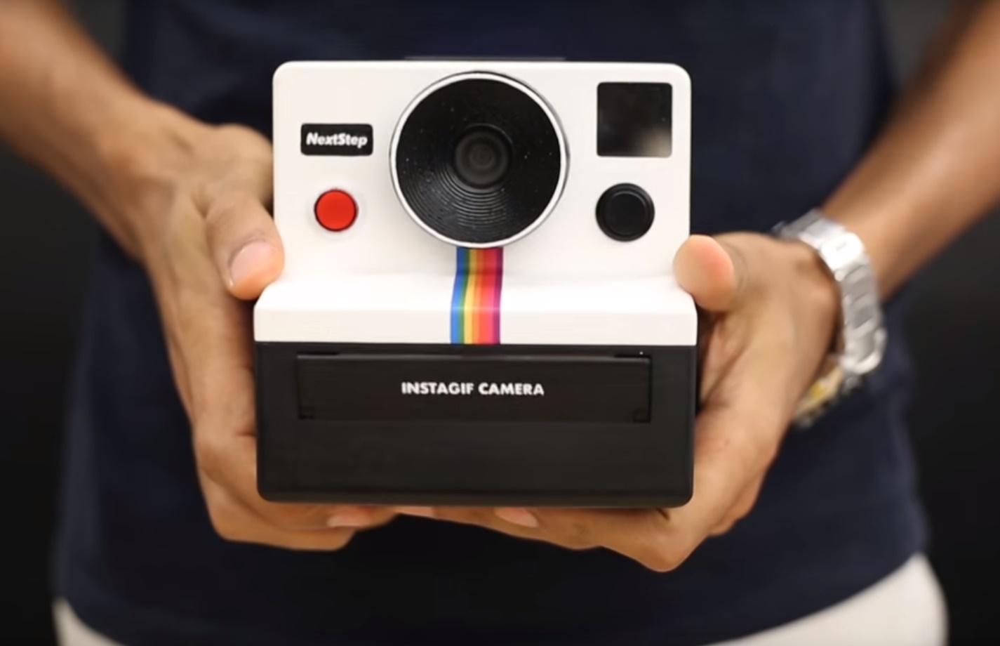 """Imagem de Como!? Instagif é a câmera que permite que você """"imprima"""" GIFs no tecmundo"""