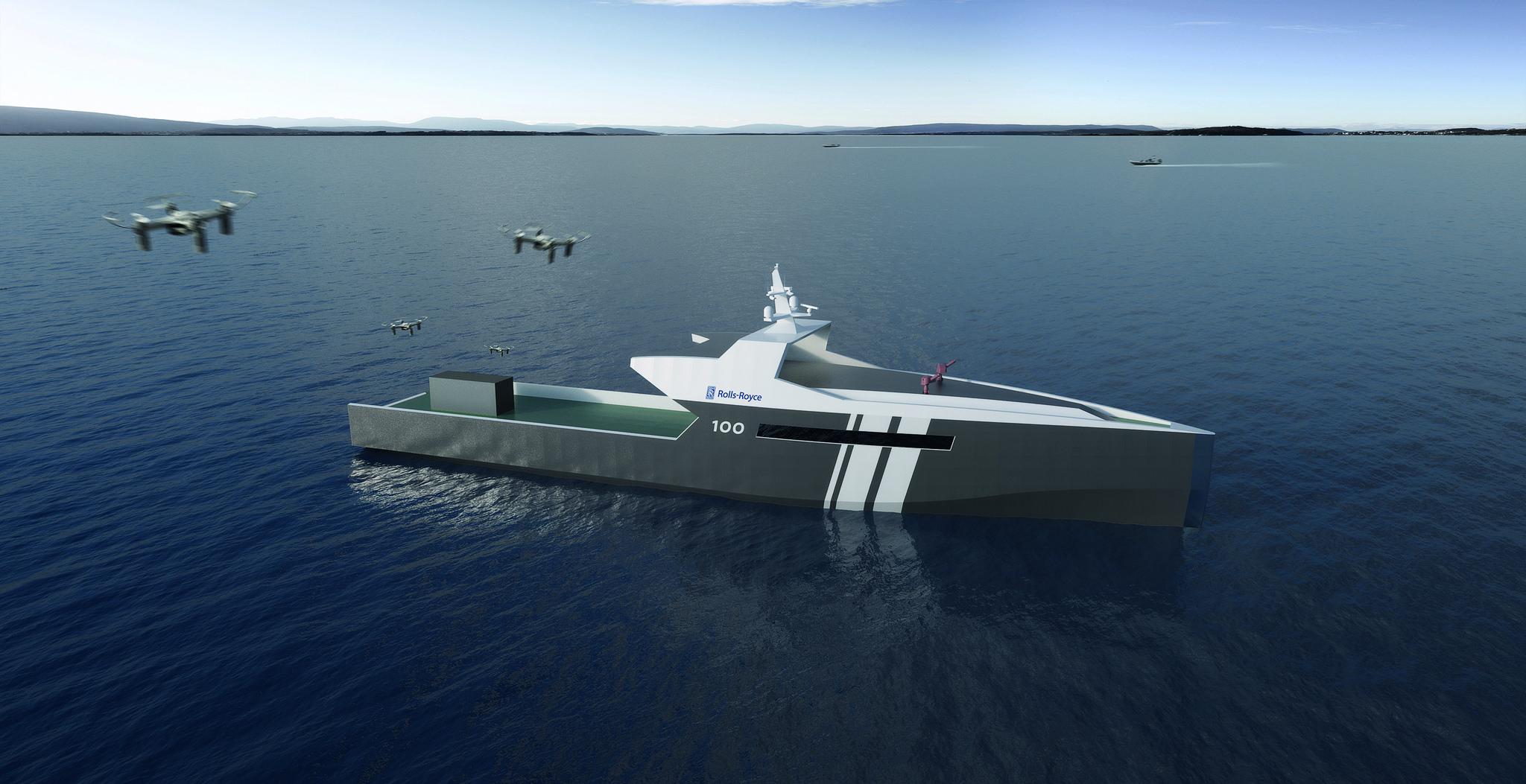 Imagem de Barco autônomo da Rolls-Royce pode ser o futuro das patrulhas marítimas no tecmundo