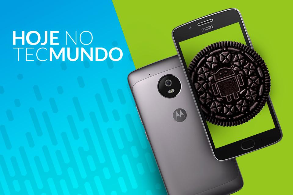 Imagem de Smartphones da Motorola que vão receber o Android Oreo - Hoje no TecMundo no tecmundo