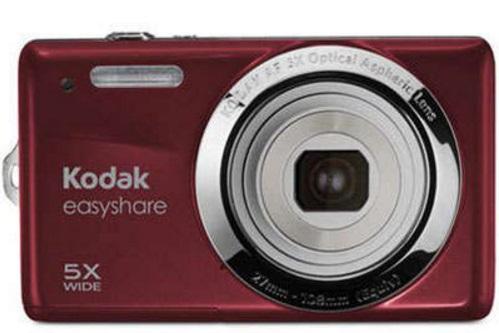 Uma câmera digital