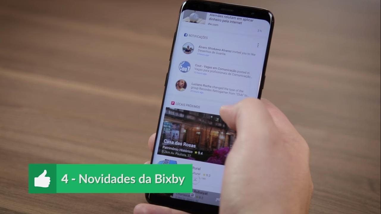 Prós e Contras Galaxy S8