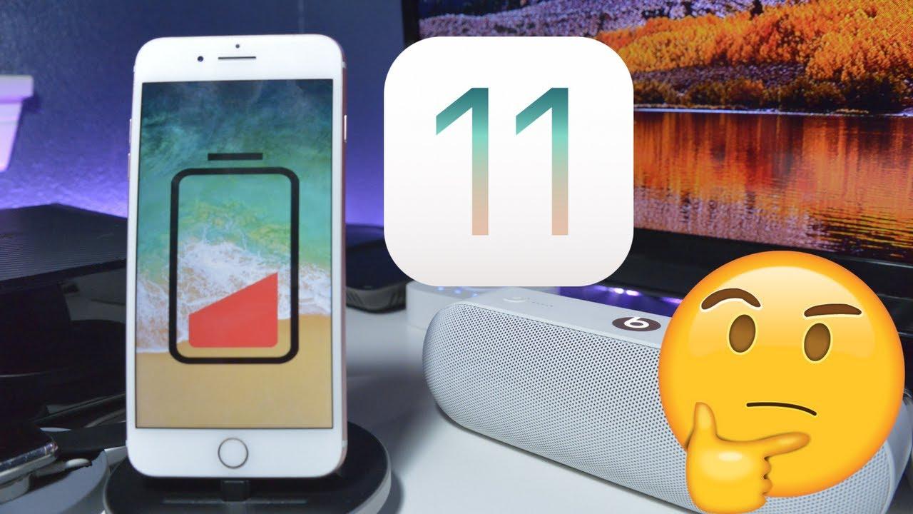 Imagem de iOS 11 está drenando a bateria dos iPhones e deixando usuários descontentes no tecmundo