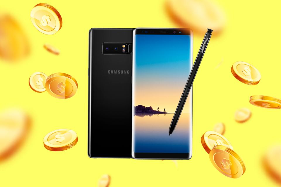 Imagem de Já sabemos os preços do novo Samsung Galaxy Note 8 no Brasil, confira! no tecmundo