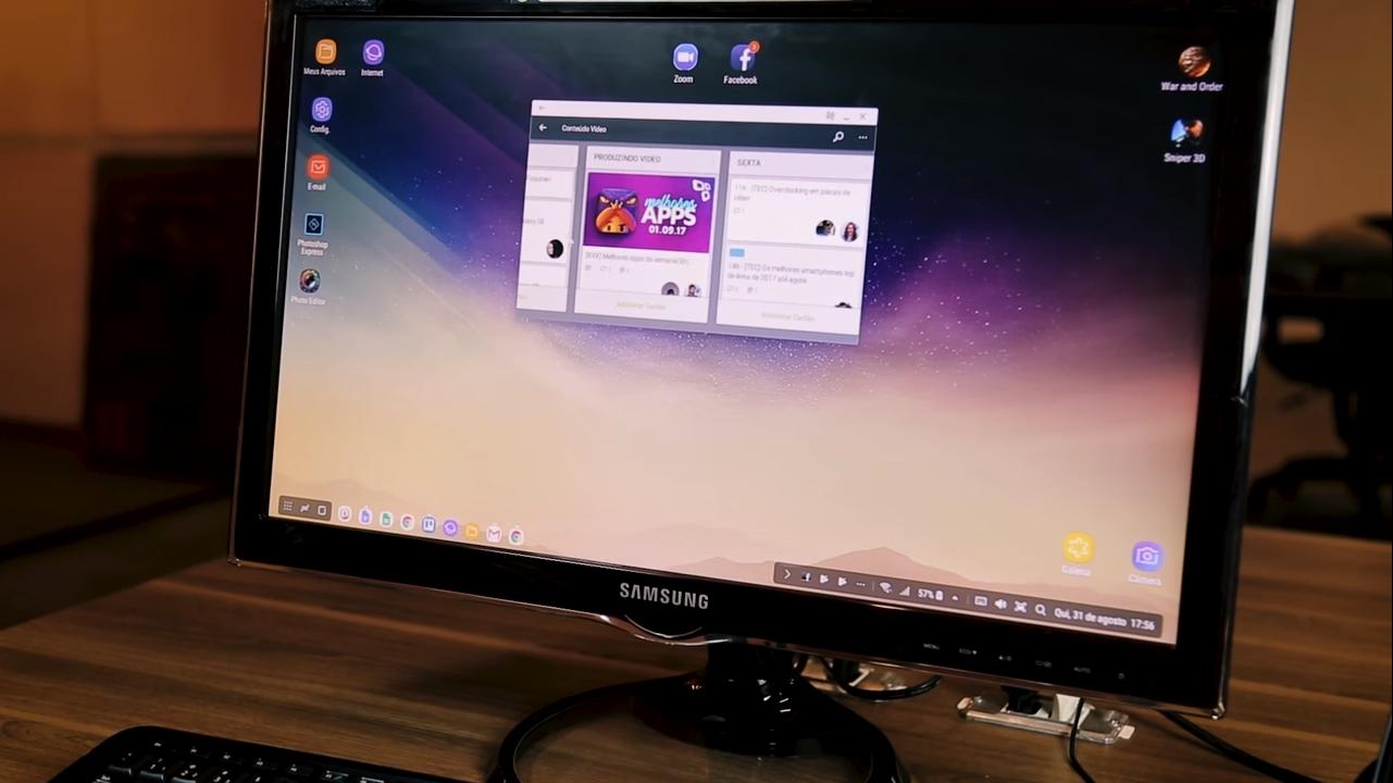 App Trello Samsung DeX Station