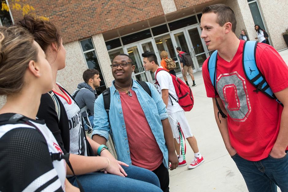 estudantes em Ohio State