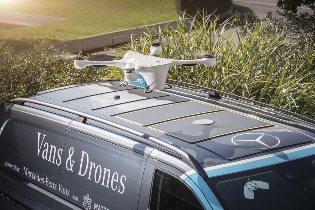 Imagem de Mercedes-Benz está usando drones para ajudar em entregas de itens na Suíça no tecmundo