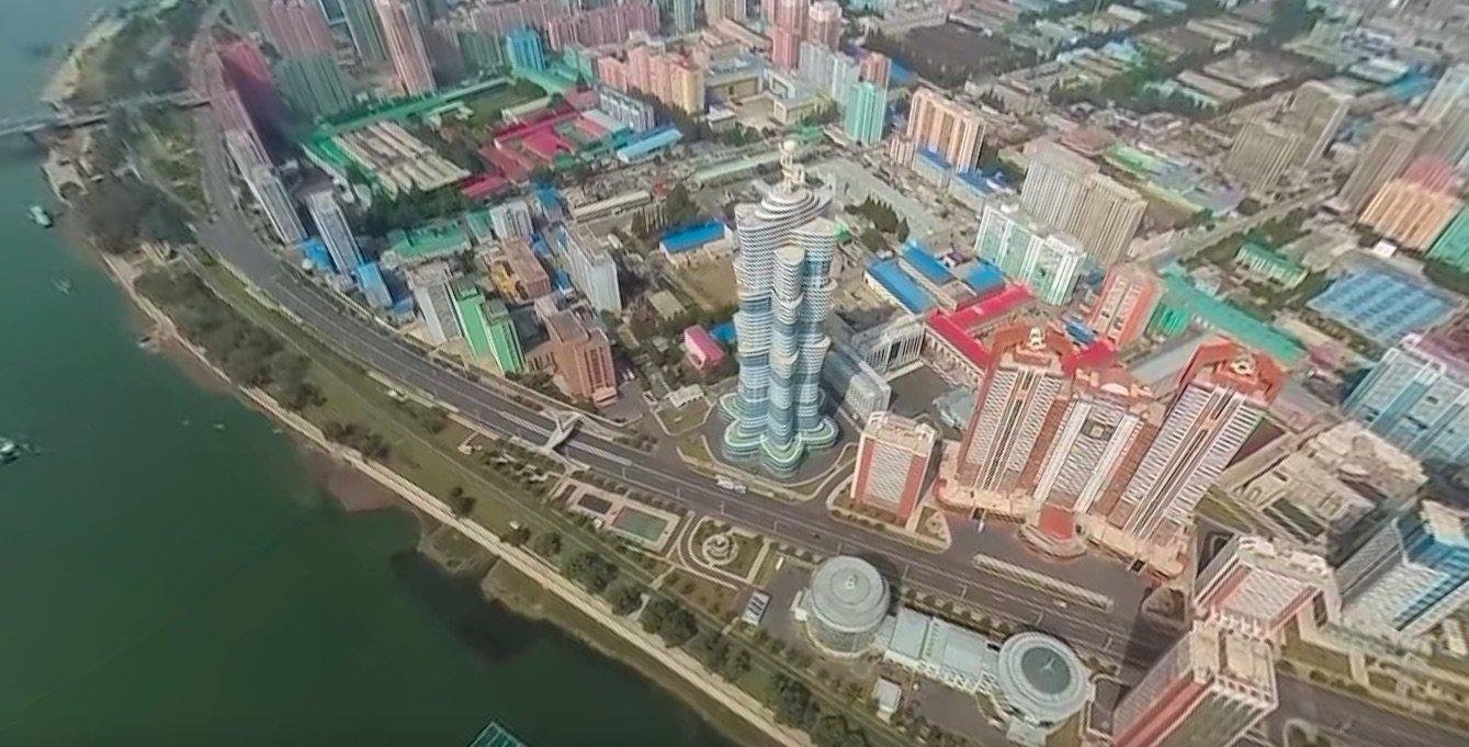 Imagem de Confira o primeiro vídeo aéreo em 360 graus da Coreia do Norte no tecmundo