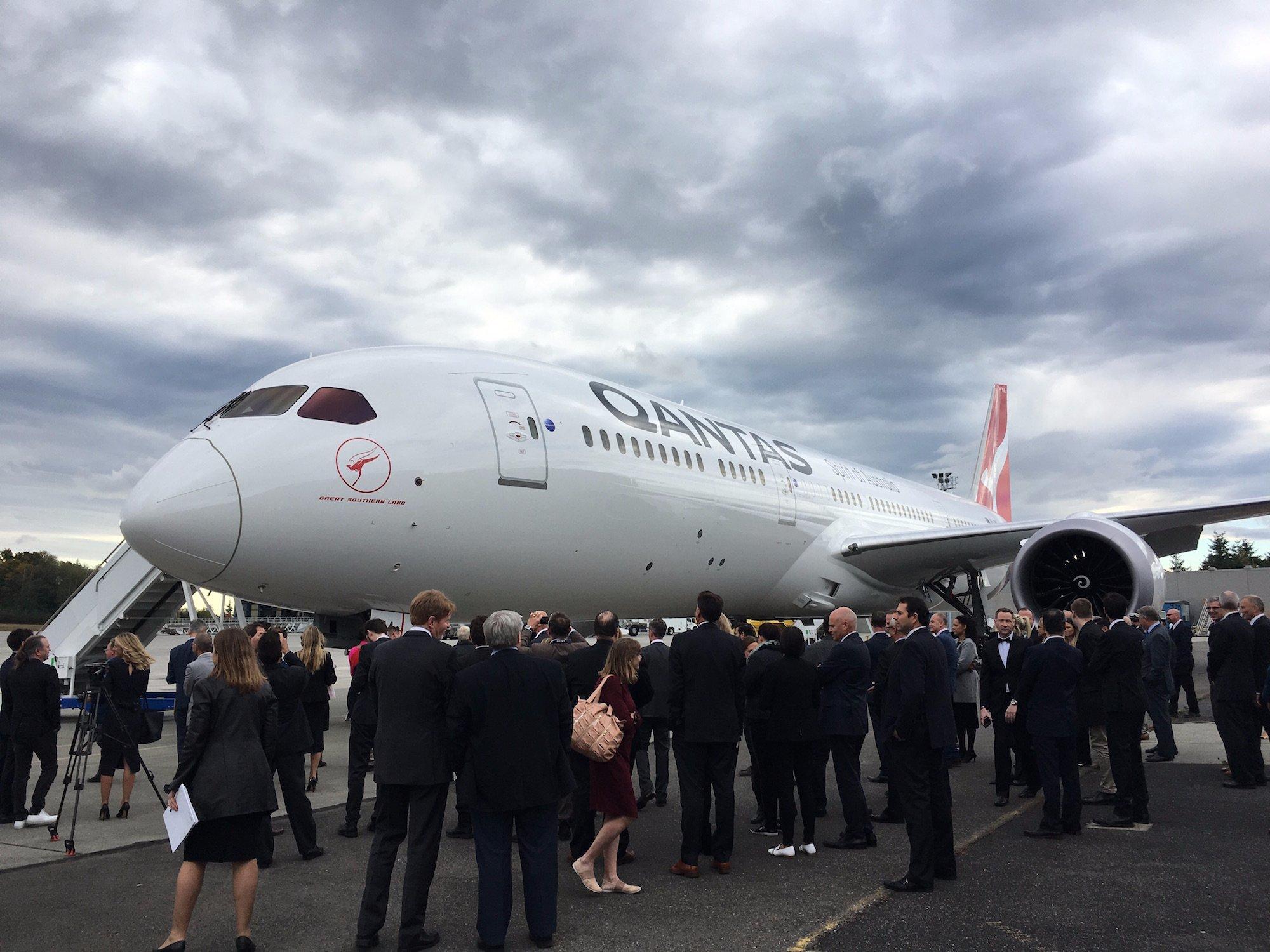 Imagem de A Boeing está entregando o 787-9 Dreamliner junto com uma chave cerimonial no tecmundo