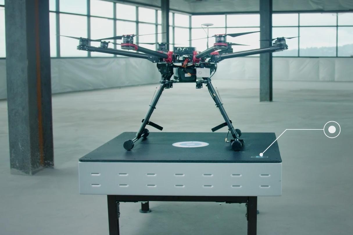 Imagem de Nova base de pouso carrega sem fio a bateria de drones automaticamente no tecmundo