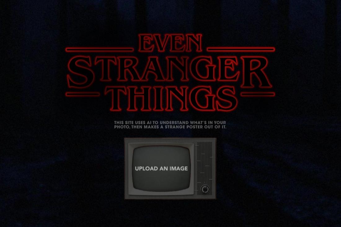 Imagem de IA de site transforma fotos em pôster de Stranger Things no tecmundo