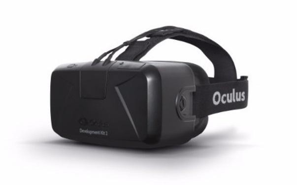 Um Oculus Rift.