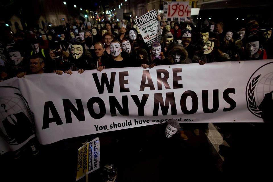 Imagem de Anonymous faz chamado para 'Marcha Milhões de Máscaras' no domingo (5) no tecmundo