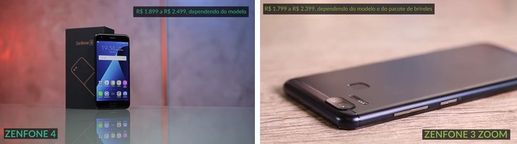 Zenfone 4 vs. Zenfone 3 Zoom