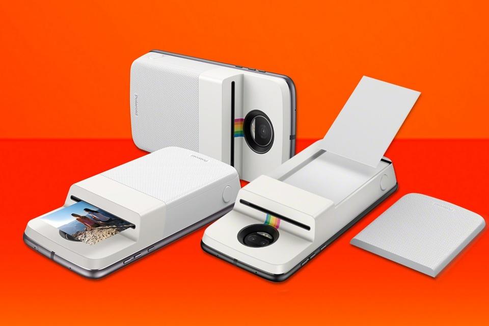 Imagem de Motorola confirma Moto Mod da Polaroid com impressora embutida no tecmundo