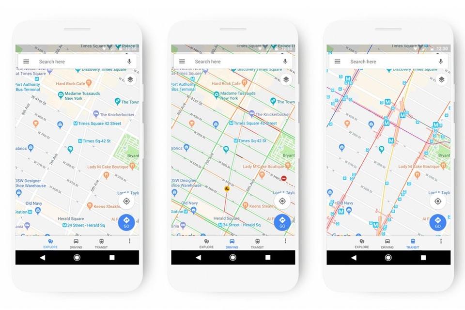 Imagem de Google Maps vai ganhar mudança de interface em breve no tecmundo