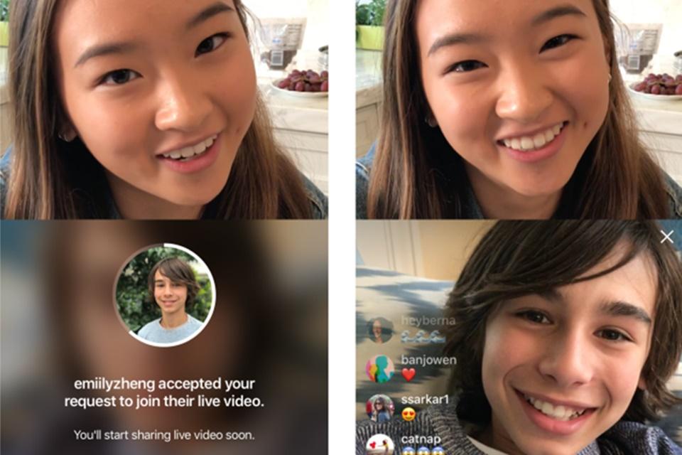 Imagem de Instagram libera requisições para entrar como convidado simultâneo em lives no tecmundo