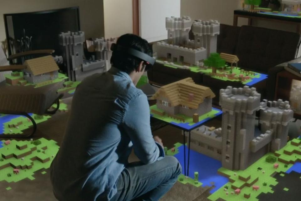 Imagem de Minecraft invade o mundo da realidade virtual antes de grande atualização no tecmundo