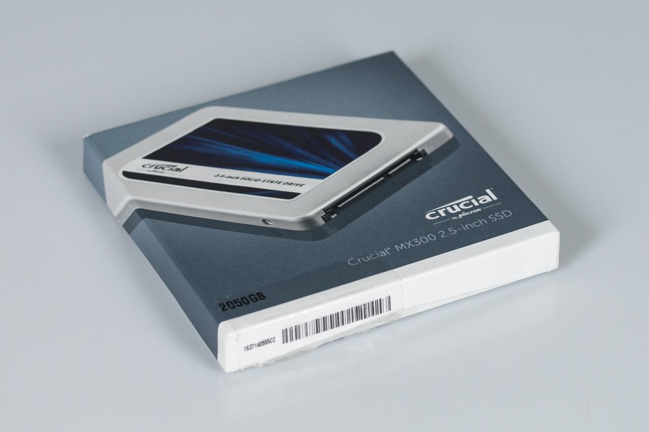 Embalagem Crucial MX300