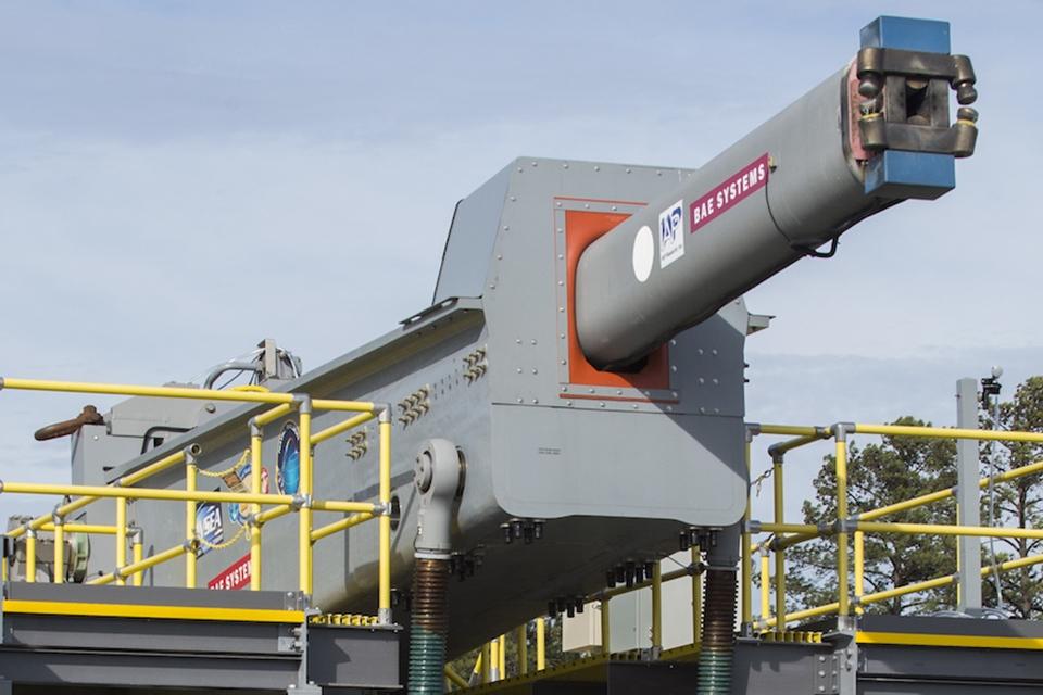 Imagem de Tecnologia de canhão eletromagnético da Marinha dos EUA pode ser abandonada no tecmundo