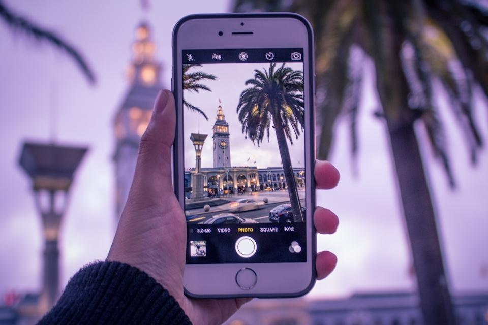 Imagem de iPhone é o dispositivo mais usado parar tirar fotos armazenadas no Flickr no tecmundo