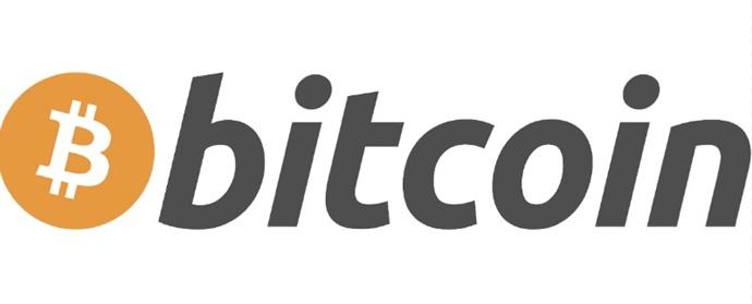 A logo da Bitcoin.