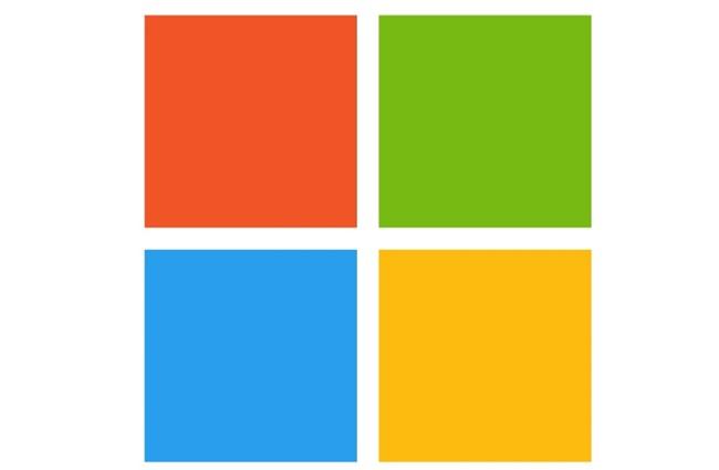 A Logo da Microsoft.