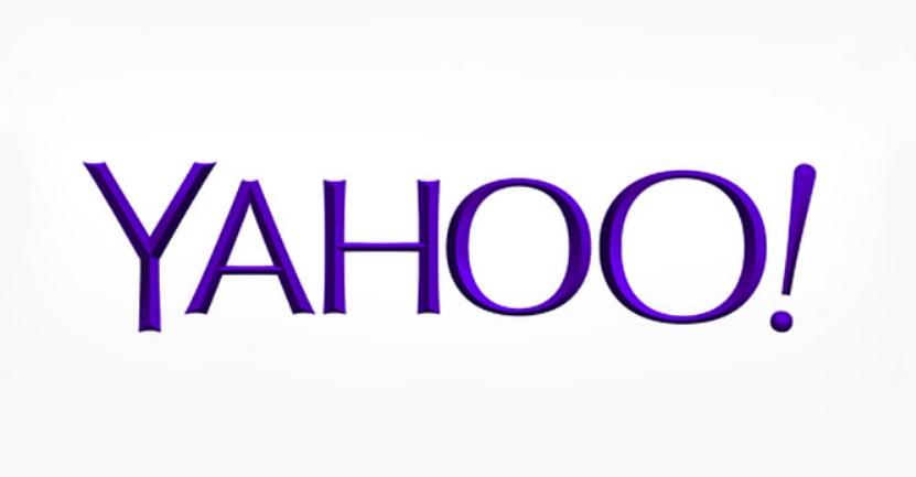 A logo do Yahoo!