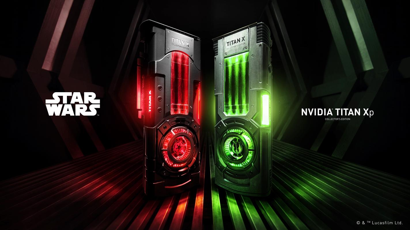 Imagem de Na onda de Star Wars, NVIDIA lança Titan XP temática no tecmundo