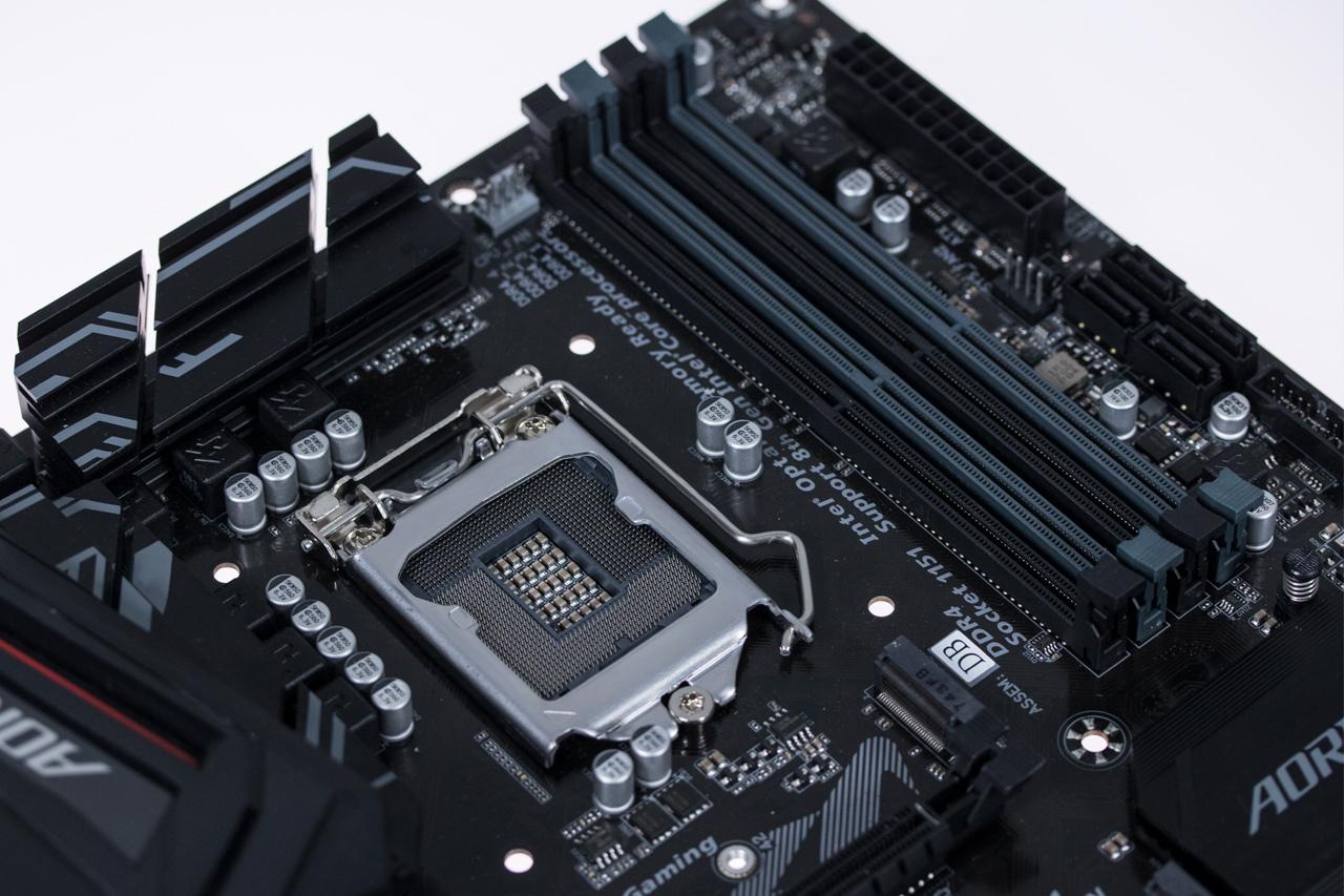 LGA1151 na Z370M AORUS Gaming