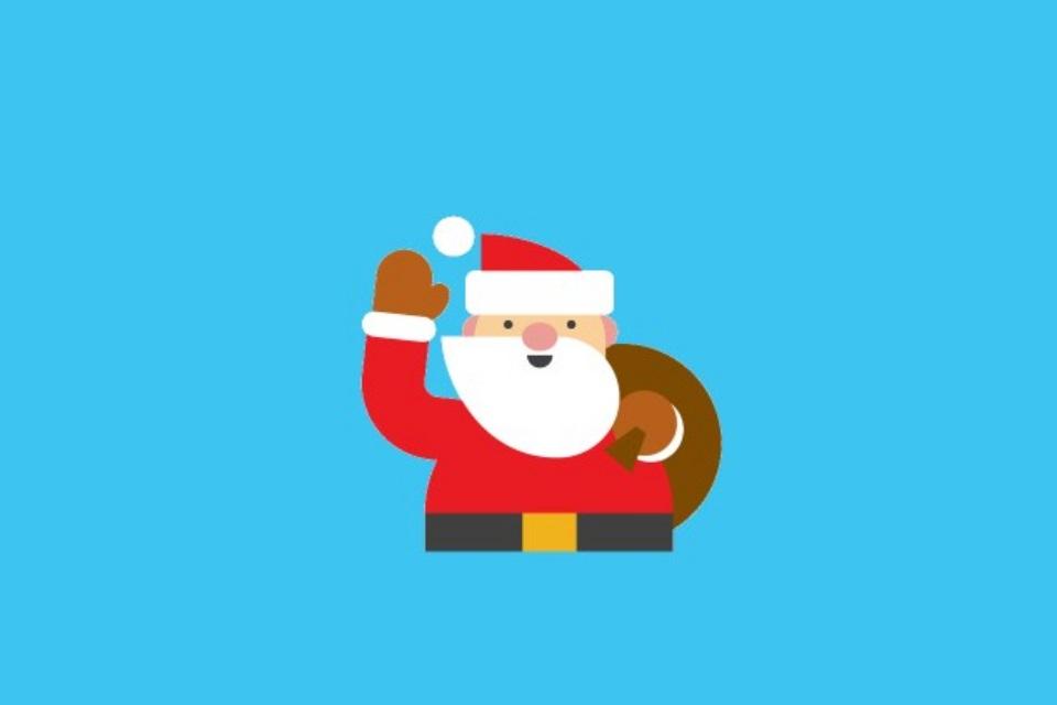 Imagem de Papai Noel já está a caminho; acompanhe ao vivo com a ferramenta da Google no tecmundo