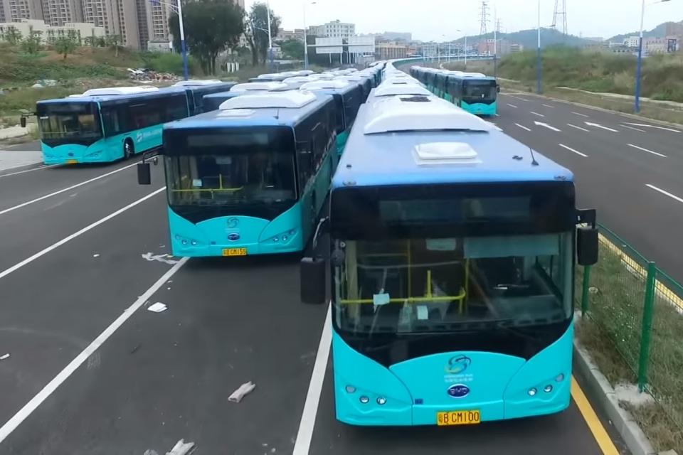 Imagem de Uma cidade inteira da China trocou os ônibus públicos por versões elétricas no tecmundo