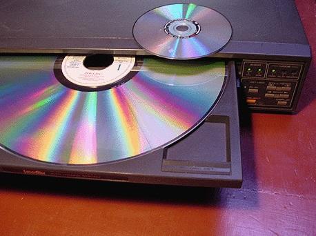 Dois discos.